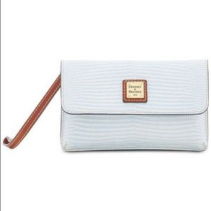 Dooney & Bourke Embossed Leather Milly Wristlet!!